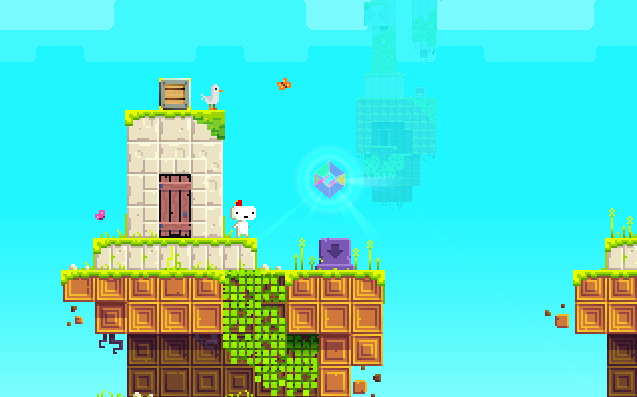fez video game screenshot